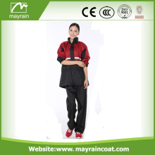 Durable PU Rainsuit para Rainy Day
