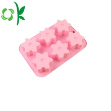 Square Silicone Snowflack Molds for Cake Decorating