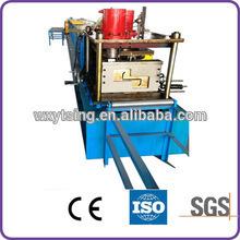 Прошел CE и ISO YTSING-YD-0787 Оцинкованная сталь Z Формовочная машина для профилей Пзготовителей