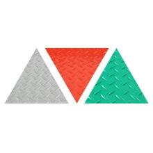 La nouvelle surface de tapis roule avec un motif de pièce