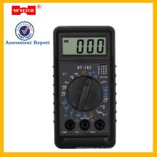 Multimètre numérique de poche DT182 pour le marché de la Russie