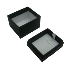 Black Paper Jewelry Pendant / Necklace Display Box Wholesale (BX-PN-B)