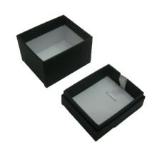Jóia de papel preta Pendant / Necklace caixa de exposição por atacado (BX-PN-B)