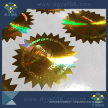 Laser Sticker with Security Printing
