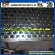 Metal perforado de acero inoxidable utilizado en equipos de calefacción
