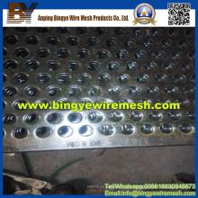 Metal perfurado de aço inoxidável usado em equipamentos de aquecimento