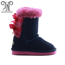 Cheap children winter snow genuine kids boots
