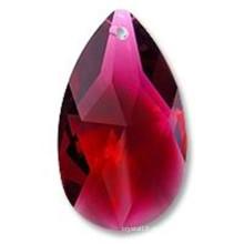 Pingente gota de cristal e grânulos de cristal para lustres (ks28024)