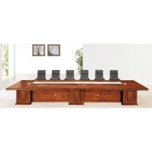 Mesa de reuniones de lujo Oficina de abogados Mesa de reuniones de lujo