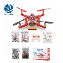 2.4GHz di DIY Building Block deformazione Mini RC Drone per l'istruzione della scuola elementare della tecnologia