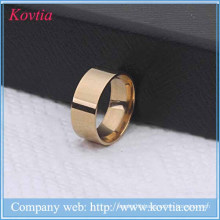 New arrival titanium steel finger ring set gold wedding rings