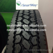 Tamaños populares americanos de la calidad de SAMSON Neumáticos radiales 295 / 75R22.5 285 / 75R24.5 11R24.5 del camión