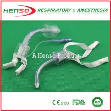 Tubo de traqueotomía médica estéril desechable de PVC