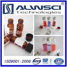 OEM logo 1.5ml hplc 8-425 Screw Amber glass Vial for Shimadzu Instrument