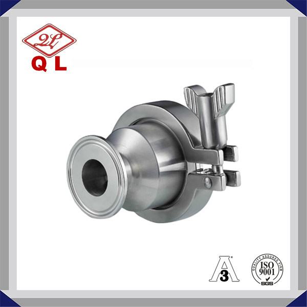 Sanitary Non Return Clamped Check Valve