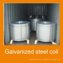 Aluzinc bobina de aço galvanizada AZ80g/m2, aço Galvalume