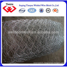pvc coated hot dipped galvanized 1/2 inch double twist hexagonal wire mesh