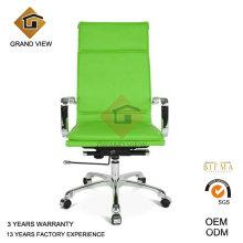 Cadeira de couro verde computador reunião (GV-OC-H305)