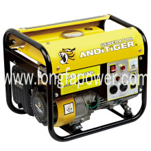 950W Four Stroke Manual Small Portable Gasoline Generator