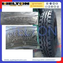 China fabricante de pneus pneu de caminhão leve 36x7