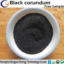 Fábrica de fornecimento de corindo preto refratário / abartual de alta qualidade