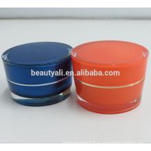 Acrílico Cosméticos Cream Jars Atacado 2ml 5ml 10ml 15ml 30ml 50ml 100ml