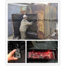 Pequeno forno de carbonização de casca de arroz que economiza energia