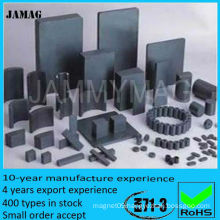 ferrite arc magnet for motor made in China