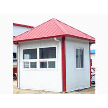 Steel Structure Prefabricated Guard House (KXD-pH1435)