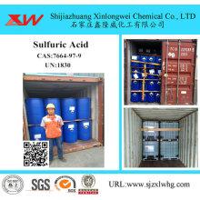 Ácido Sulfúrico 98 Para Refinaria De Açúcar