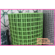 "Anping factory 3/4"" square PVC Coating hardware fabric Welded Wire Mesh"
