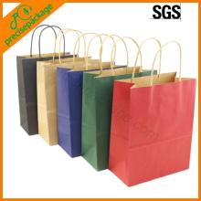 Eco verschiedene Farben Papiertragetasche (PRP-15008)