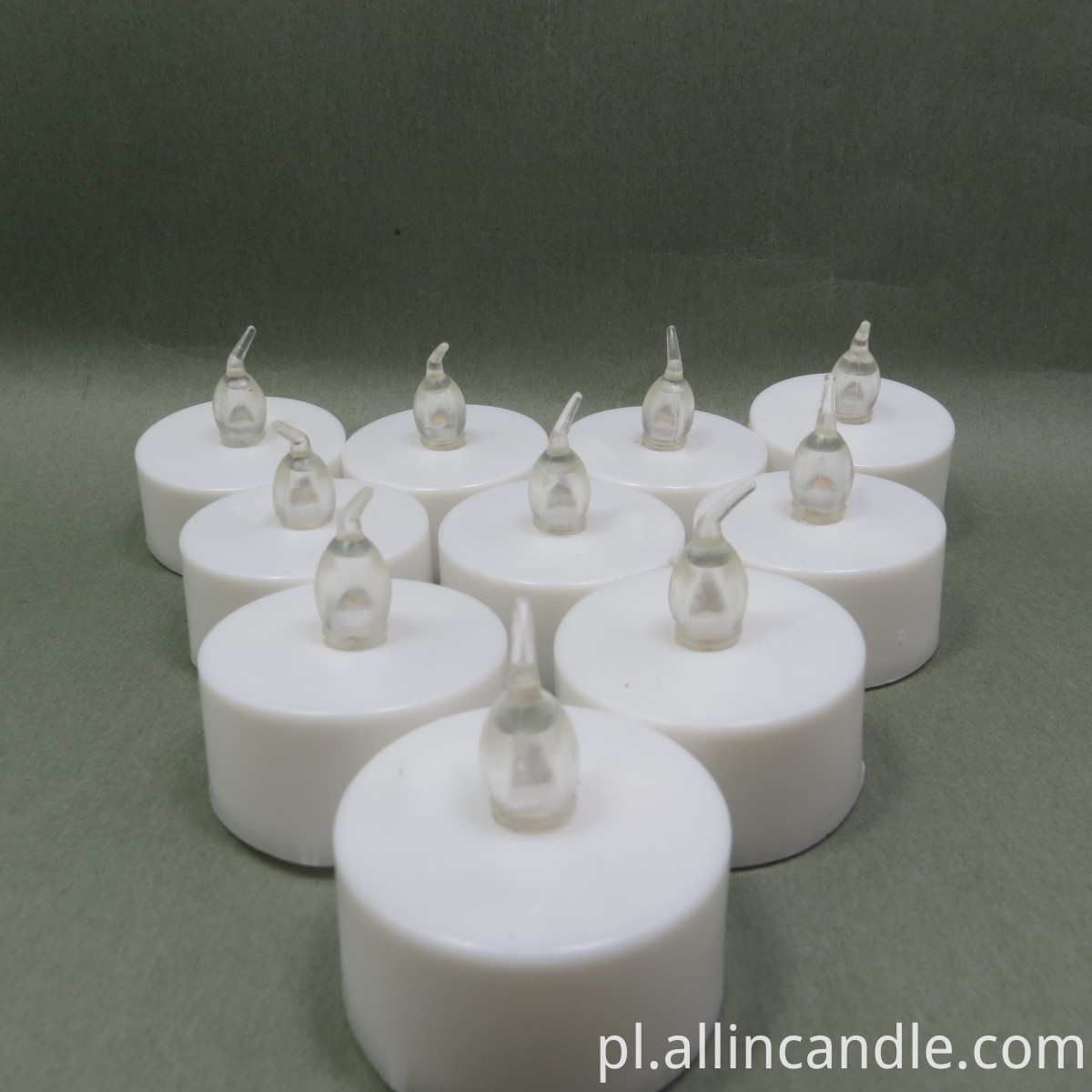 Battery LED tea light candle
