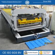Machine de formage de panneaux de tuiles en acier ISO Steel