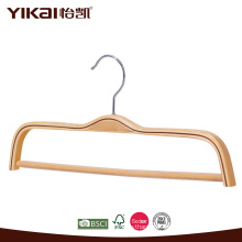Wholesale flat shirt laminated clothes hanger