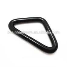Мода Высокое качество металла Толстые черный треугольник кольцо