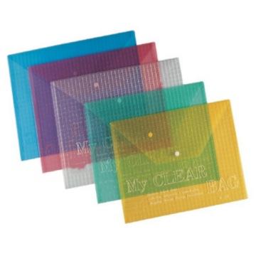 Practical Sh3209-Sh3210  Silk-Screen Button File Bag