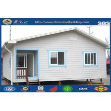 Casa prefabricada de acero ligero / Casa prefabricada / Casa modular económica de acero (JW-16255)