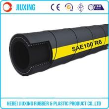 single fiber braid sae 100 r6 hydraulic rhose