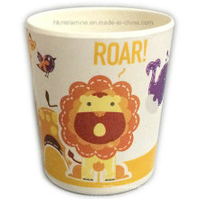 Round Kids Melamine Cup with Logo (CP7367)