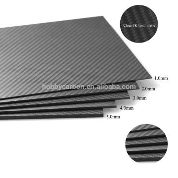 Fibre de carbone 3K, fibre de carbone