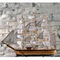 barco de madera modelo decorativo barco de madera