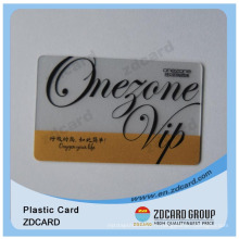 Clear Printing Gift Transparent PVC Business Card