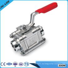 Actuador de válvula de bola eléctrico de alta presión SS de mayor venta