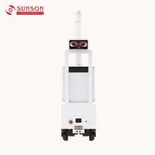 Робот для дезинфекции с надежным аккумулятором и антивирусной системой
