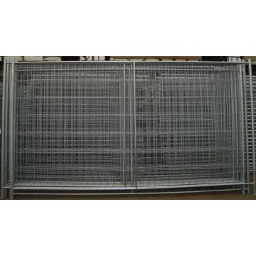 Galvanized Steel Temporary Fence