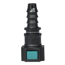 Conector rápido conductivo 7.89 (5/16) -ID8-0 ° SAE