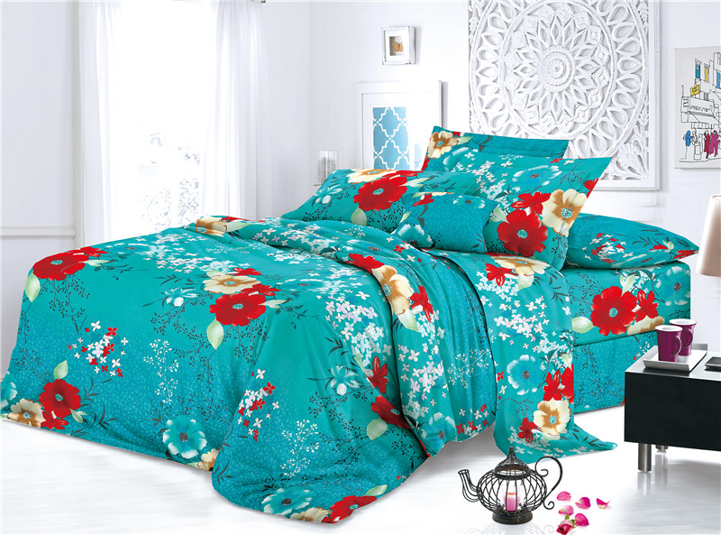 Textiles Polyester Print Bed Covers