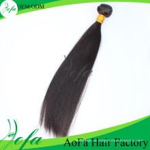 Extensión al por mayor del pelo humano del pelo de Remy de la Virgen del visón del grado 7A