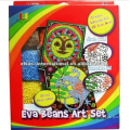 craft and art kids DIY painting ,Wholesale EVA beans Kids Craft Kits